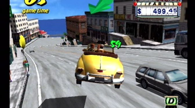 Crazy Taxi for Sega Dreamcast