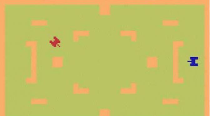 Combat game for the Atari 2600