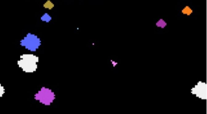 Asteroids on the Atari 2600