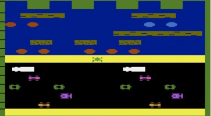 Frogger for the Atari 2600