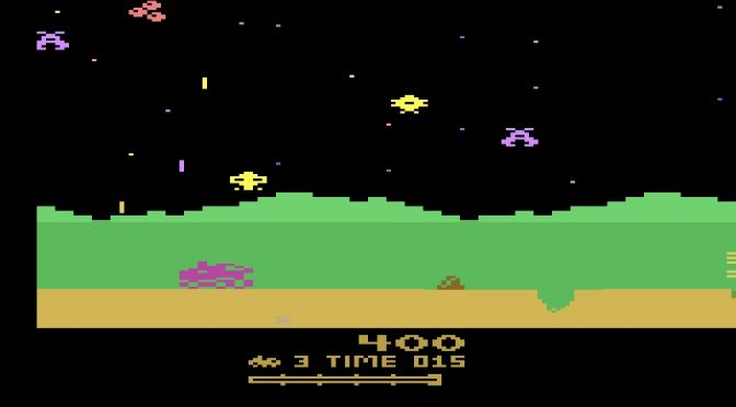 Moon Patrol for the Atari 2600
