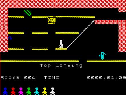 Jet Set Willy ZX spectrum screenshot
