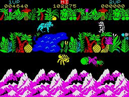 Sabre Wulf ZX Spectrum screenshot