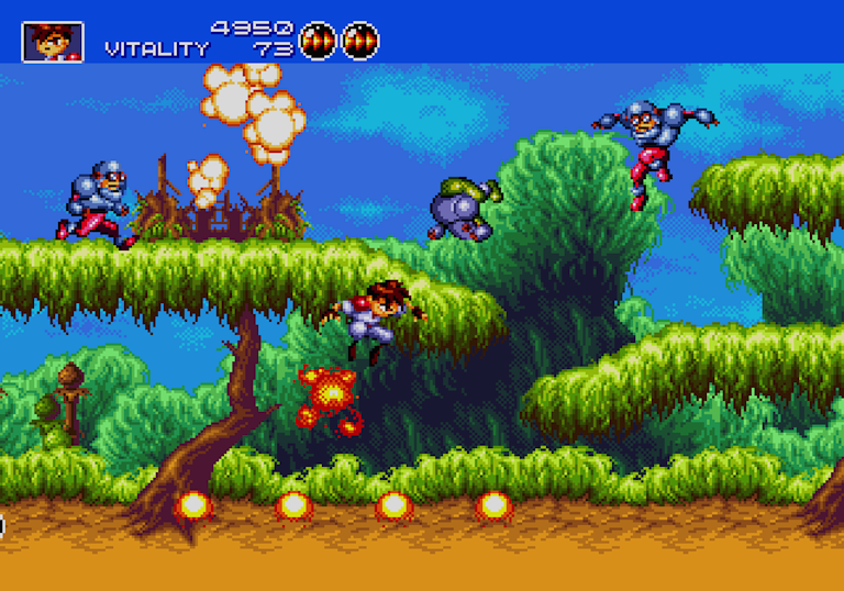 Gunstar Heroes Megadrive Treasure