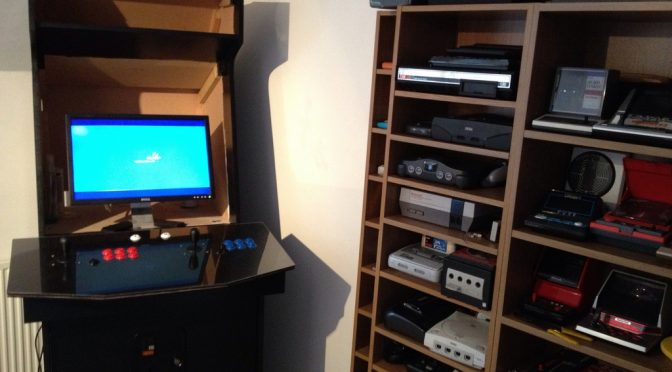 MAME Cabinet Project Update – It's Alive!