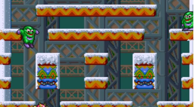 Snow Bros. Nick and Tom Retro Arcade Review