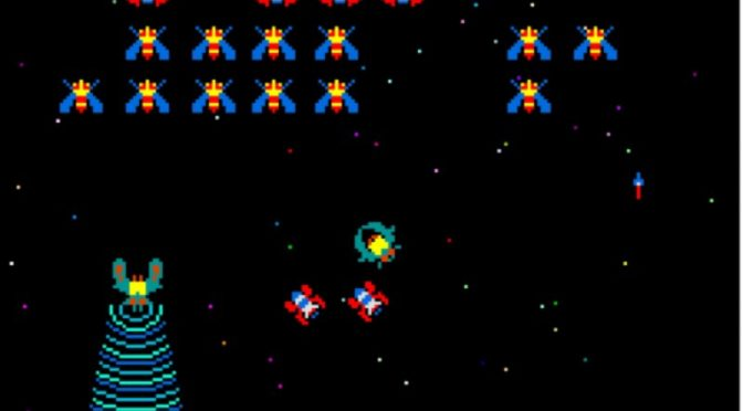 Galaga by Namco – Retro Arcade Review