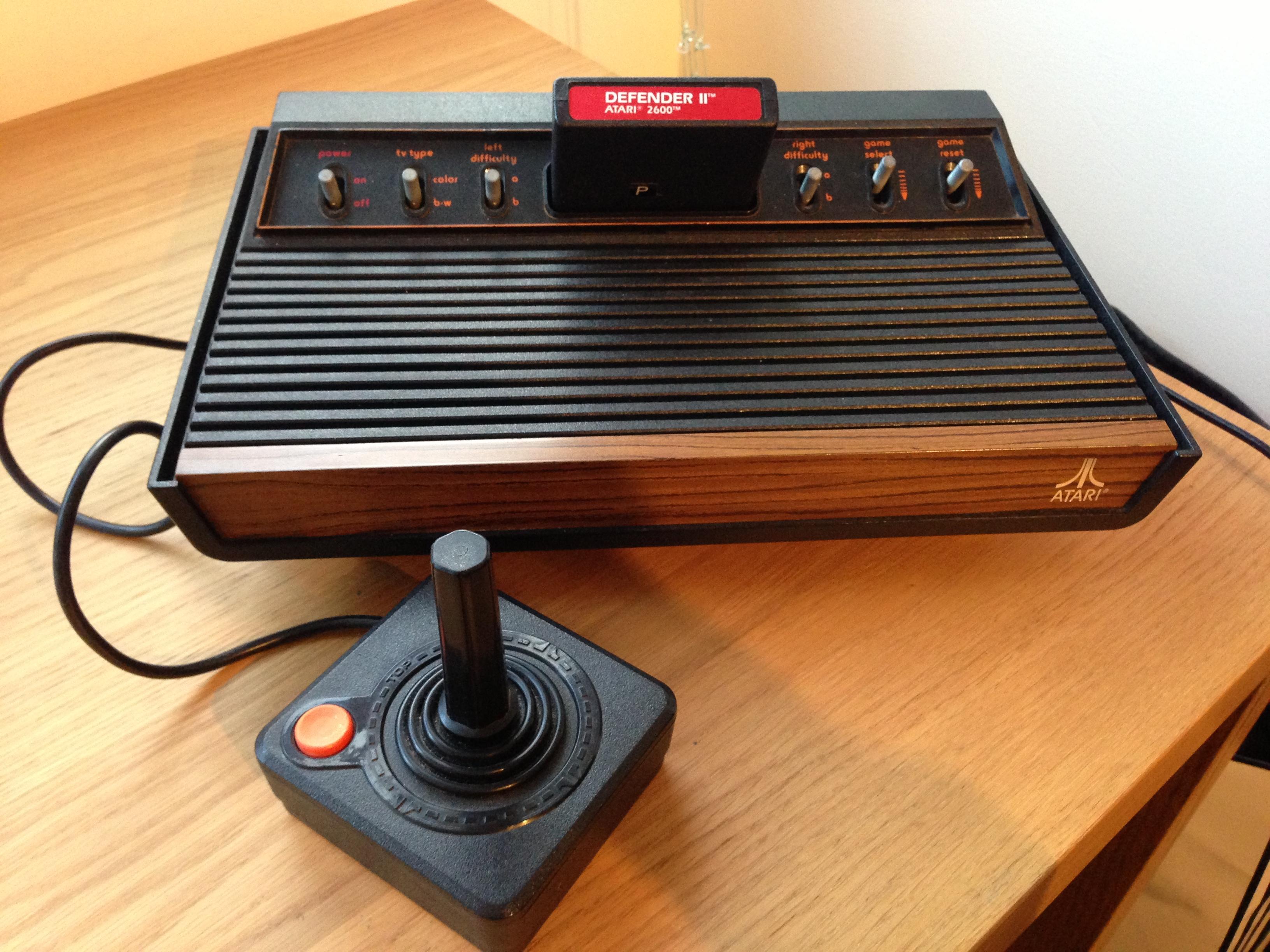 Atari 2600 restoration part 2 retro games now - Original atari game console ...