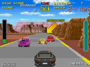 Chase HQ Arcade Screenshot