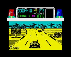 Chase H.Q. ZX Spectrum