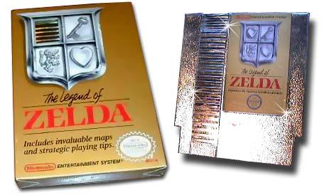 The best/worst retro Box art thread - Page 2 Zelda-NES-Gold-Cartridge-Box