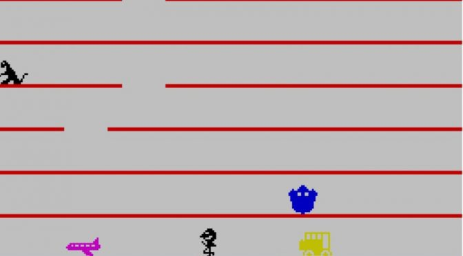 Jumping Jack for the ZX Spectrum