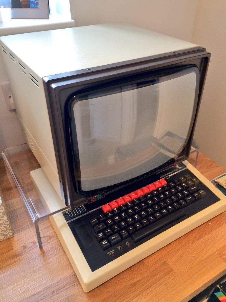 BBC Micro with Microvitec Cub Monitor