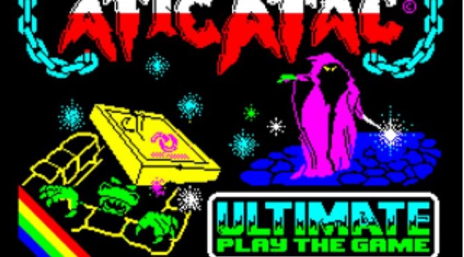 Atic Atac Retro Review for the Sinclair ZX Spectrum
