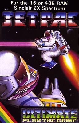 Jetpac forZX Spectrum Cassette Inlay