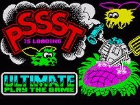 PSSST! Loading Screen on the ZX Spectrum