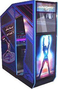 Discs of Tron Arcade Cabinet