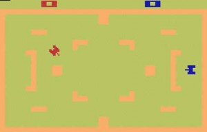Atari 2600 Combat Screenshot