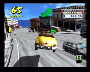Crazy Taxi for the Sega Dreamcast