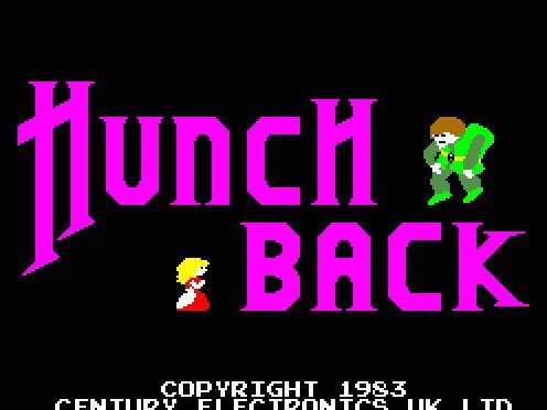 Hunchback Arcade Game by Century Electronics