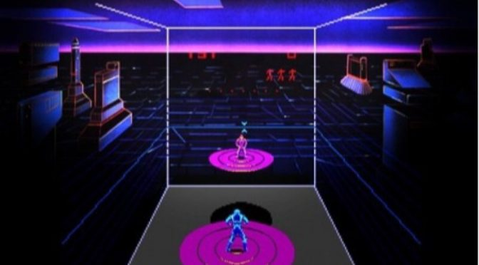 Discs of Tron retro arcade game review