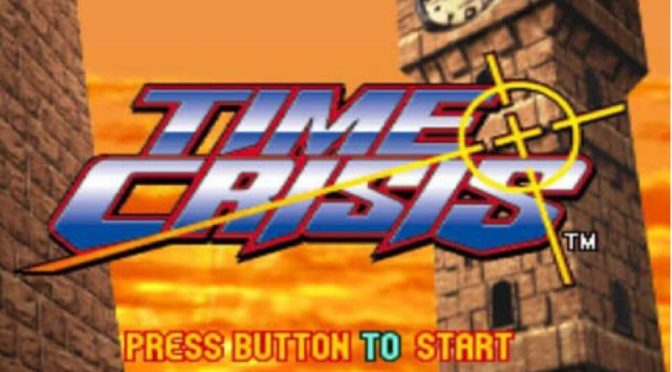 Time Crisis title screen