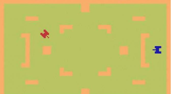 Combat game for the Atari 2600