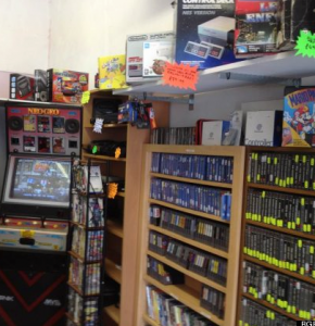 retro game store