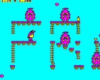 Frak! game for BBC Micro
