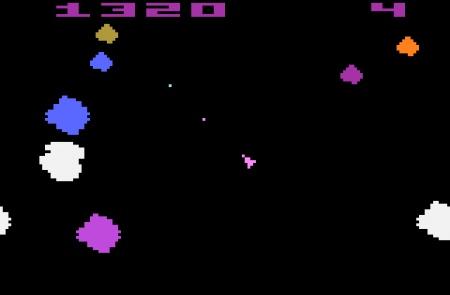 Asteroids Atari 2600