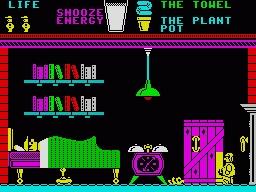 Pyjamarama ZX Spectrum
