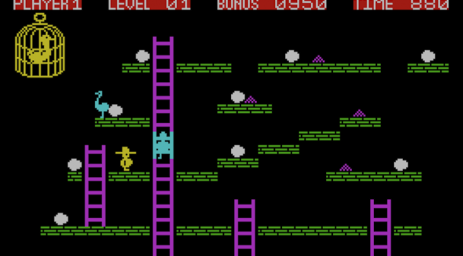 Chuckie Egg Spectrum vs the BBC Micro