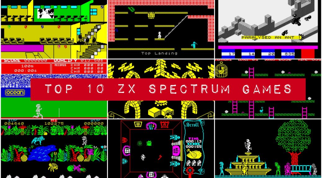 Top 10 Spectrum Games
