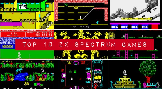 Top 10 Spectrum Games: the best Speccy games ever!