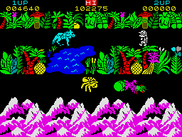 Sabre Wulf ZX Spectrum screenshot