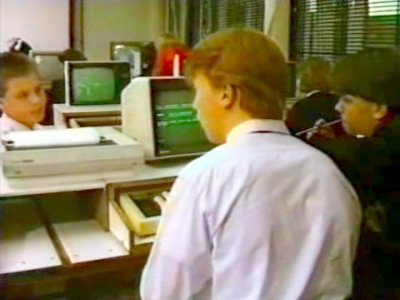 The BBC Micro on Grange Hill