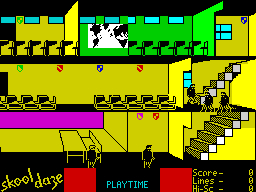 School daze ZX Spectrum screenshot