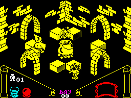 Knight Lore ZX Spectrum screenshot