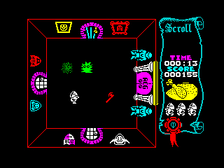 Atic Atac ZX Spectrum screenshot