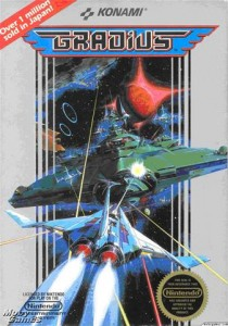 Gradius NES Box Art