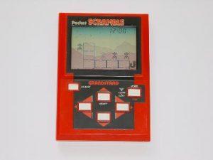 Grandstand Scramble Pocket Handheld Game