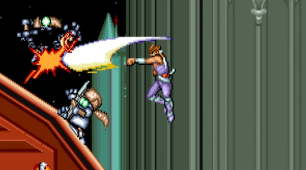 Strider Arcade Screenshot