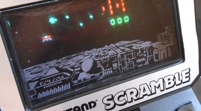 Grandstand Scramble 80's Retro Handheld Game