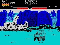 Yie Ar Kung Fu ZX Spectrum