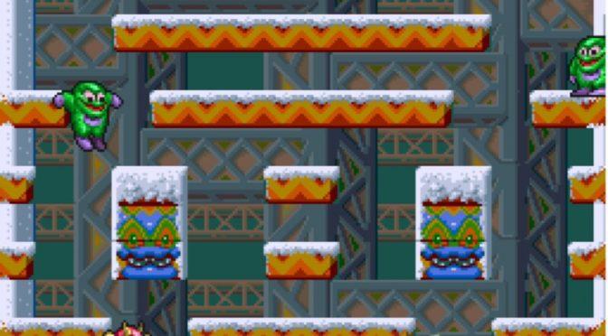 Snow Bros Arcade Screenshot