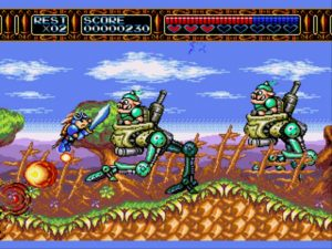 Sega Megadrive Rocket Knight Adventures
