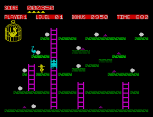 Chuckie Egg for the ZX Spectrum
