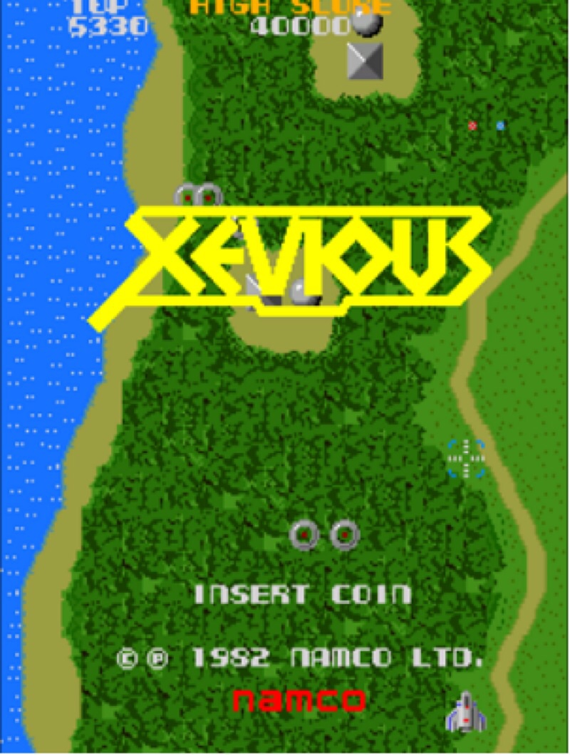 Xevious By Namco Classic Arcade Game Review Retro Games Now