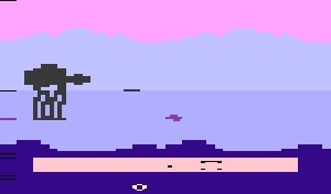 The Empire Strikes Back Atari 2600 Screenshot