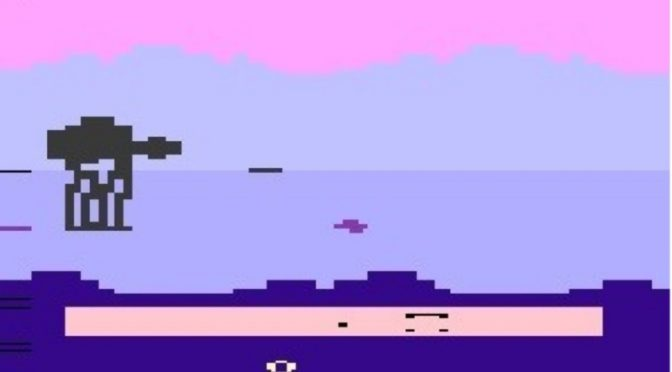 Empire Strikes Back Atari 2600